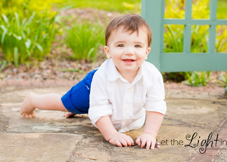 boy crawling by local Northern VA Portrait Photographer