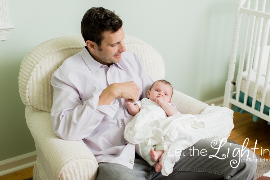 Family and Child Portraits in home in Northern Virginia