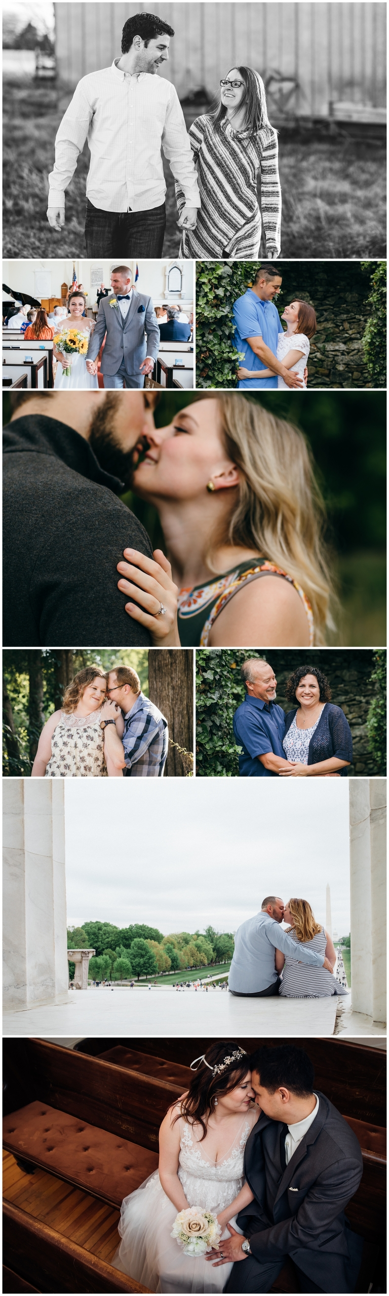 Collection of Best images from Premier Couples Photographer in Northern Virginia, Prince William and Fairfax County