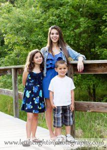 Portrait of Three Children taken by local Child Photographer in Manassas VA
