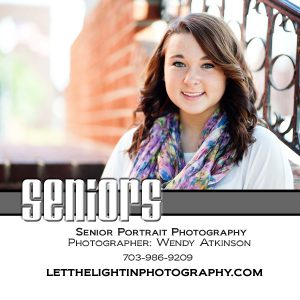 Senior Photographer Serving Northern Virginia, Manassas, Bristow, Gainesville, Haymarket , Prince William and Fauquier Counties in Virginia